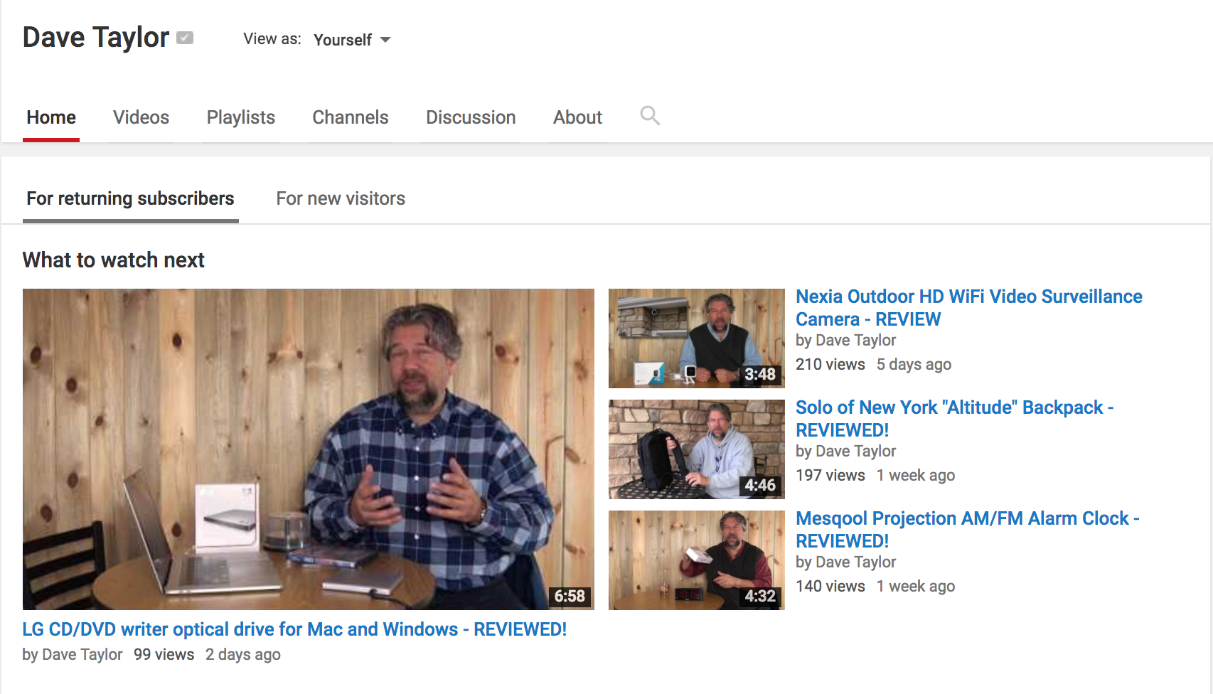 YouTube Videos Not Showing up on Channel? - Ask Dave Taylor