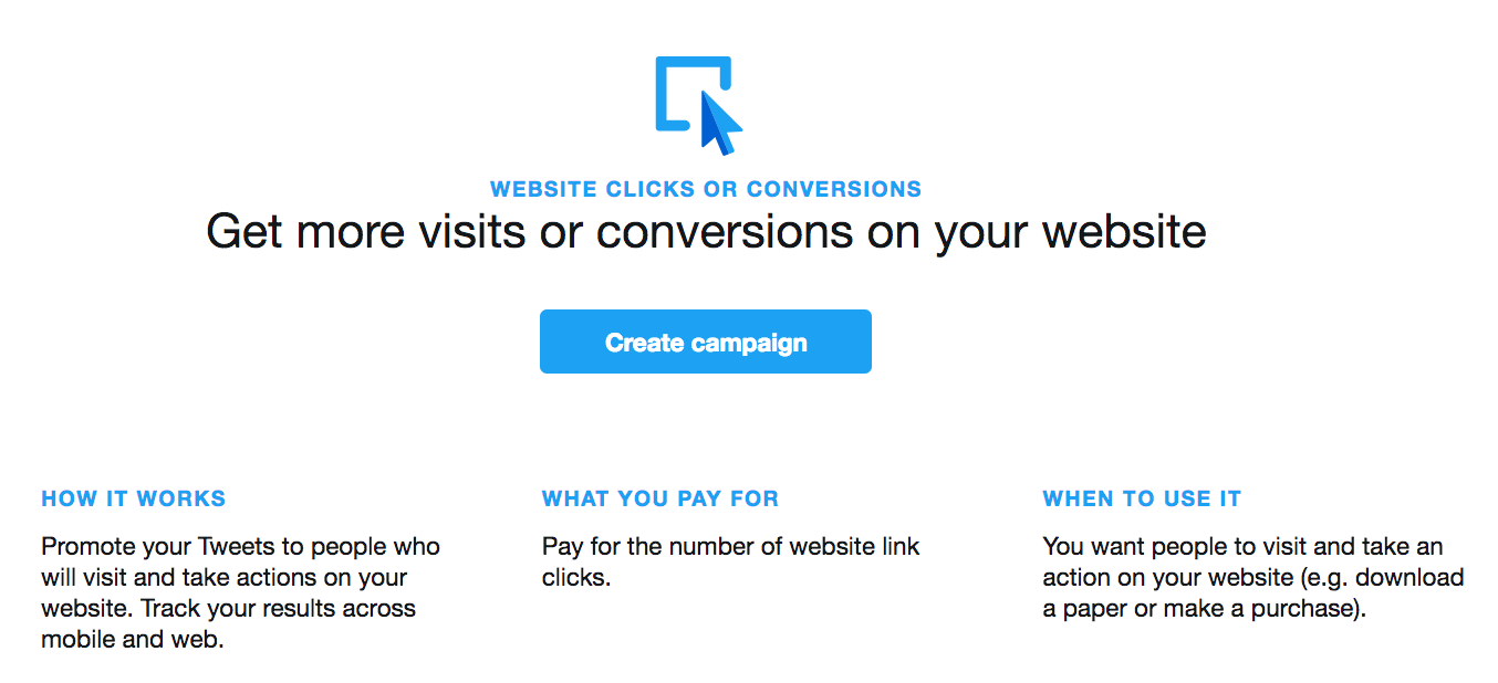 twitter ad campaign setup