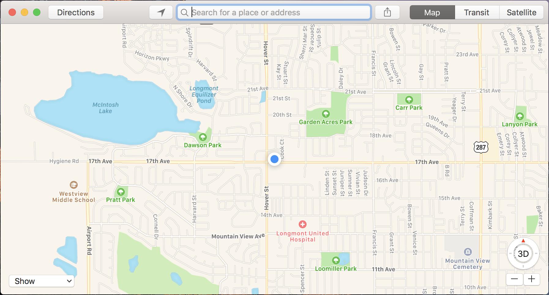 apple maps has found me