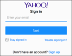yahoo mail recover lost forgotten password yahoo account