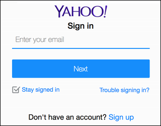 how to find yahoo password