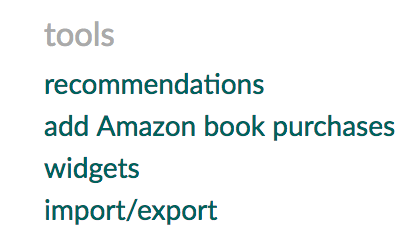 add amazon book purchases - goodreads