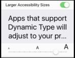 set larger bigger text type apple iphone ipad ios 10
