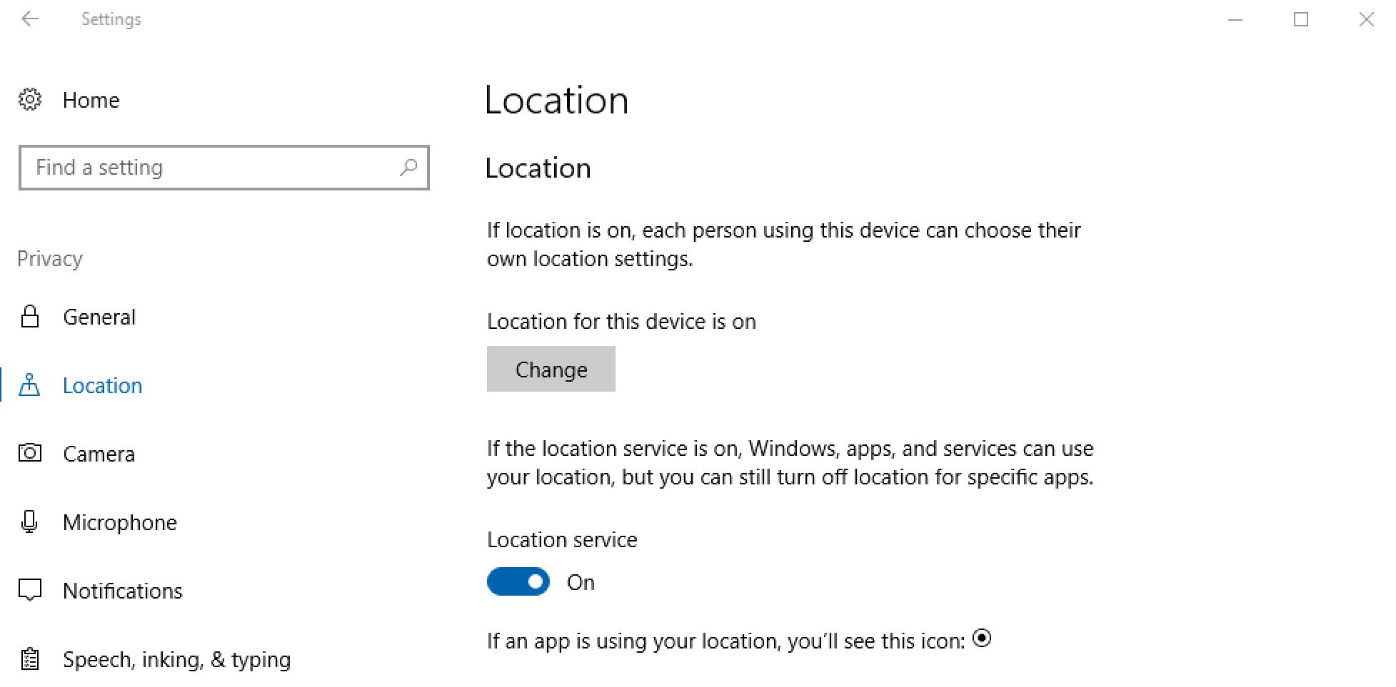 windows 10 win10 privacy settings