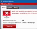 enable turn on windows defender win10 antivirus antispyware security