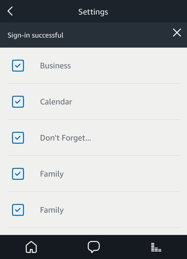 alexa access which ical icloud apple calendars