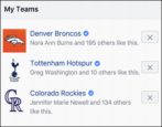 favorite sports teams facebook