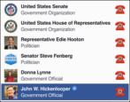 tag congressman senator governor politicians facebook