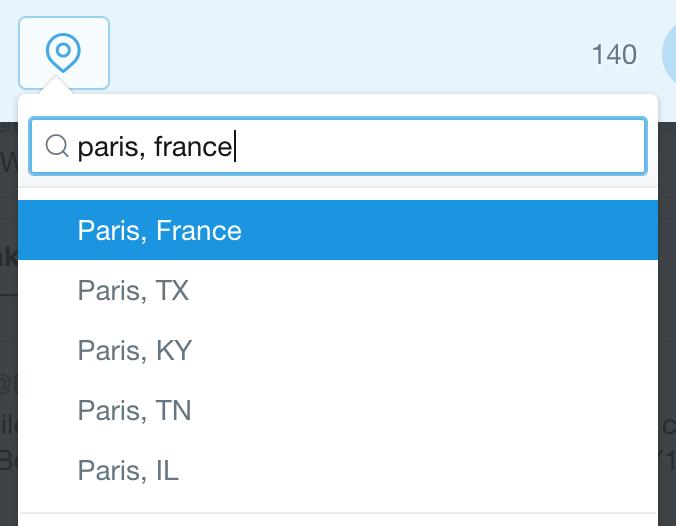 twitter location: paris, france