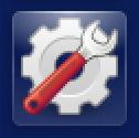 settings gear icon, launchbar, ubuntu linux