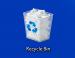 restore missing recycle bin, windows 10 win10