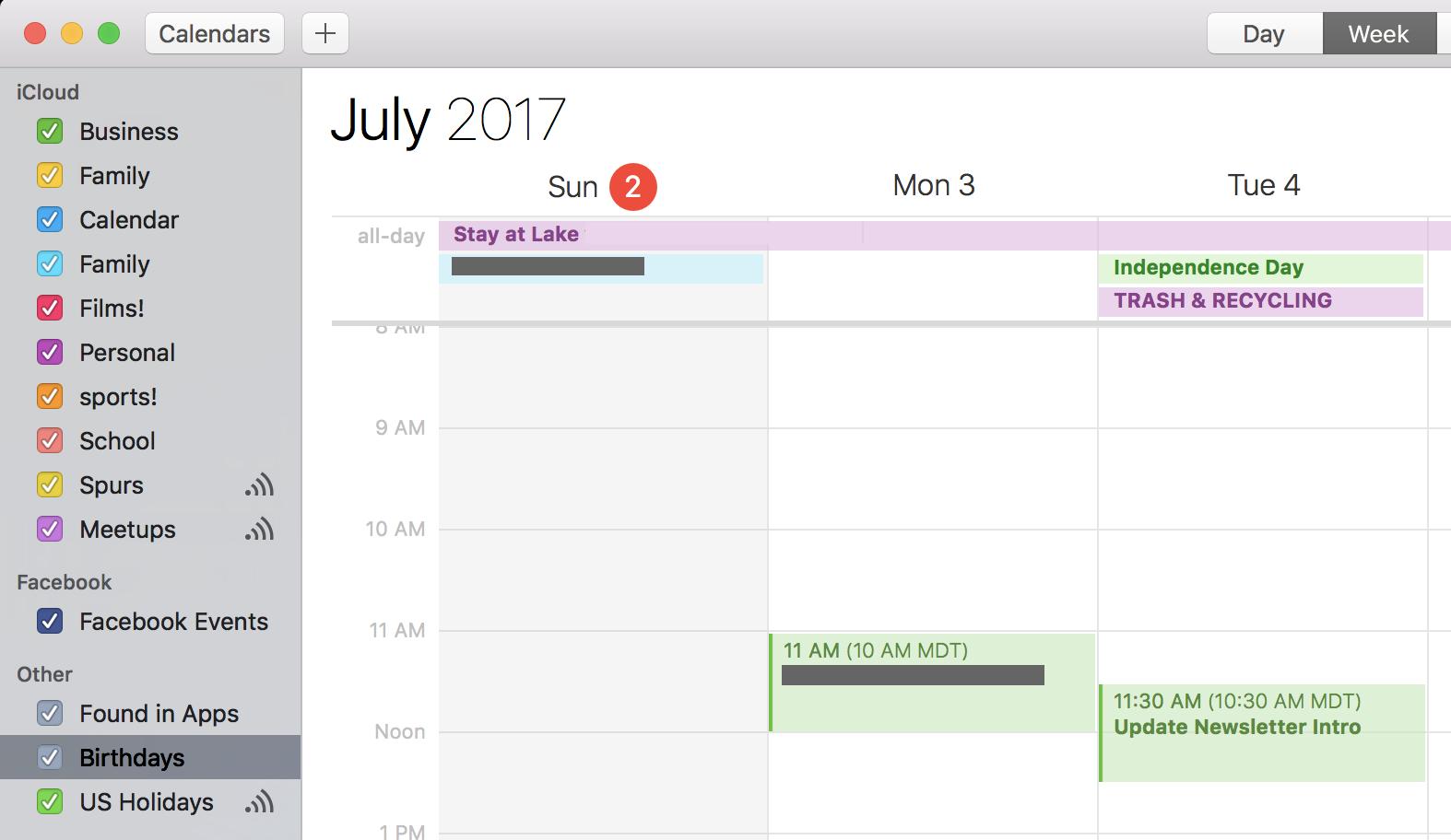 apple calendar ical
