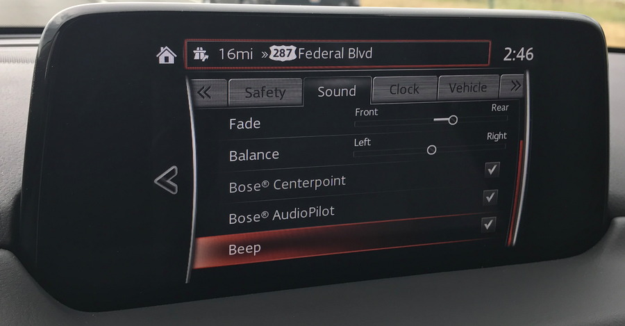 bose centerpoint audiopilot