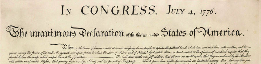 declaration of independence usa america