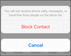how to block caller phone number ios 10 iphone 6 7 8