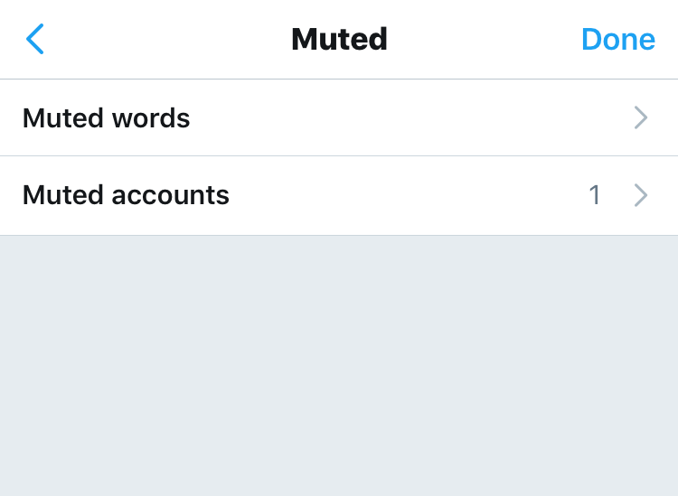 twitter mute words twitter mute accounts