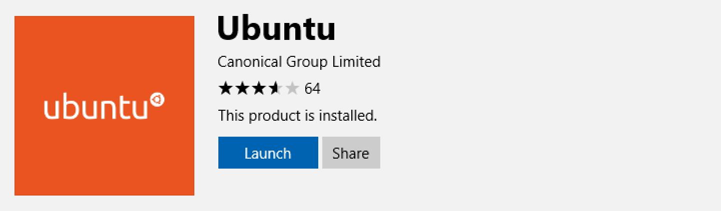 ubuntu installed windows 10 win10 linux