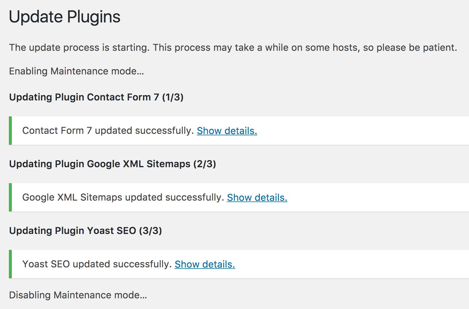 update wordpress plugins 5 ask dave taylor