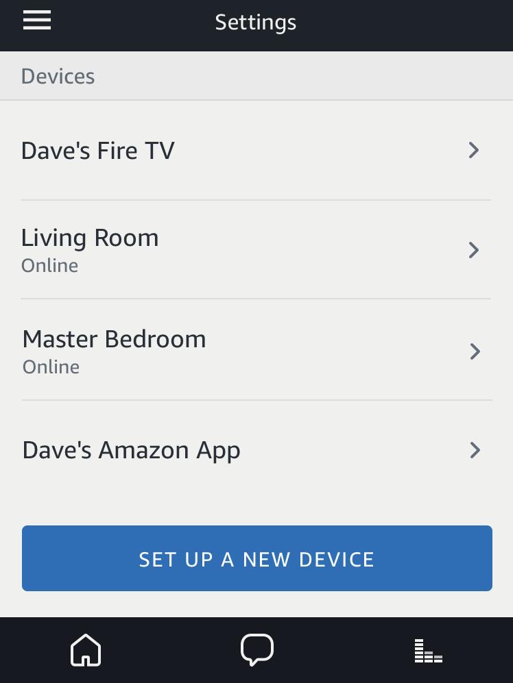 amazon alexa devices list