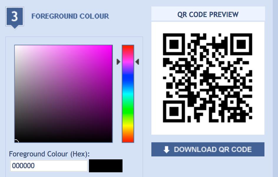 create build qr code free