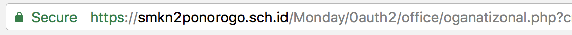phishing attack address bar url