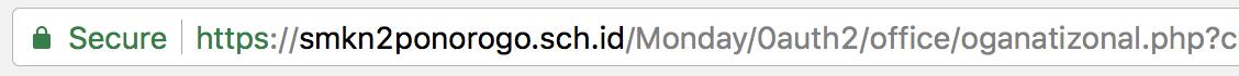 phishing attack address bar url