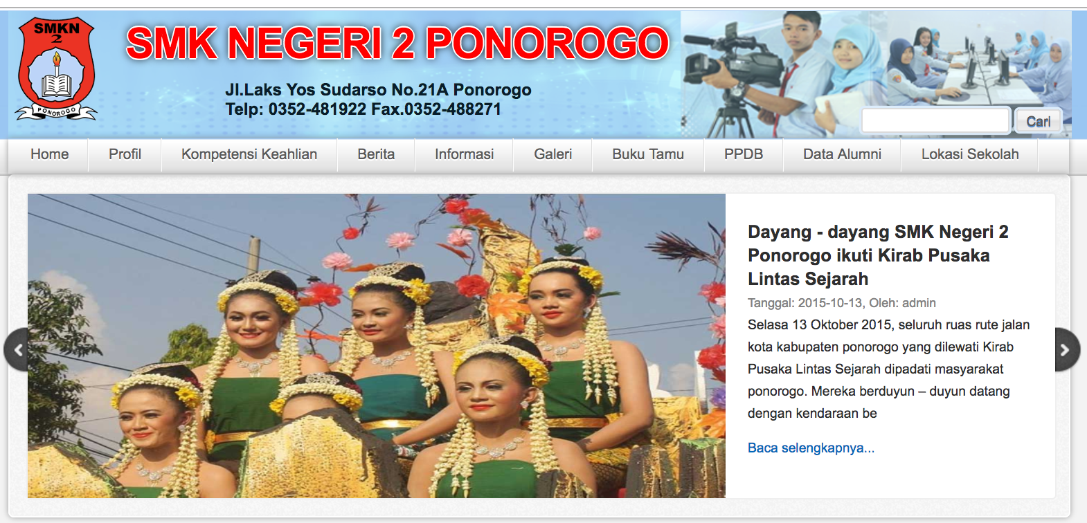 ponorogo.sch.id home page indonesia