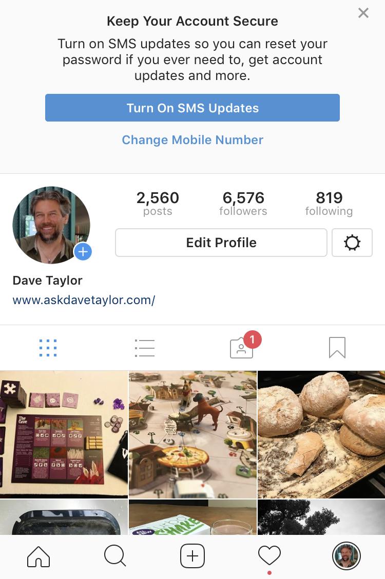 dave taylor on instagram