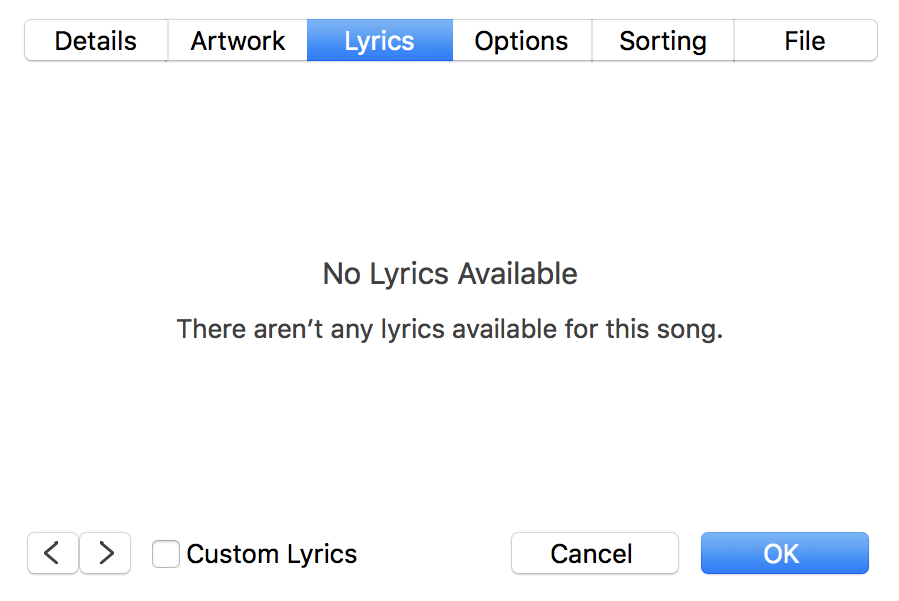 Lyric songs with numbers in lyrics : How Can I Add Lyrics to a Song in iTunes? - Ask Dave Taylor