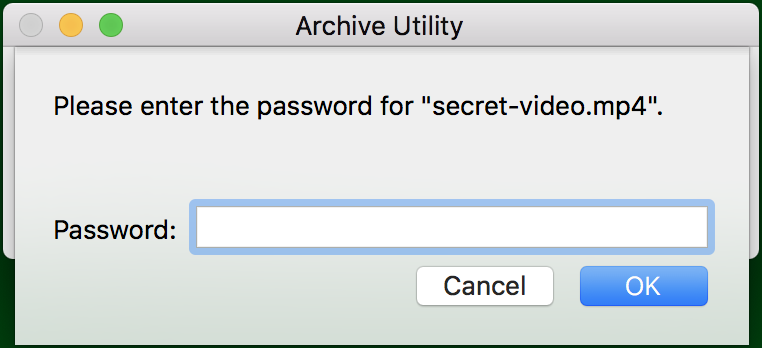 Create Password-Protected ZIP Archive on a Mac? - Ask Dave Taylor