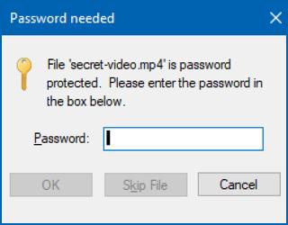 create password protected zip file mac