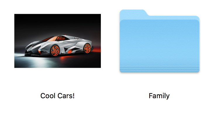 Mac custom folder icons