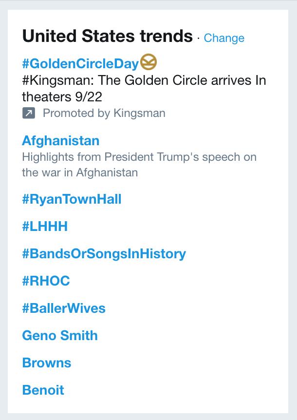 trending hashtags twitter