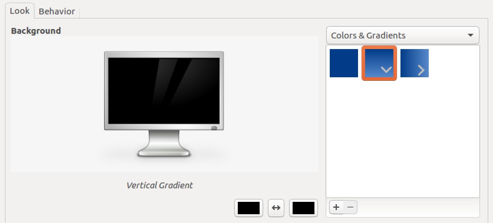 ubuntu linux wallpaper solid color gradient