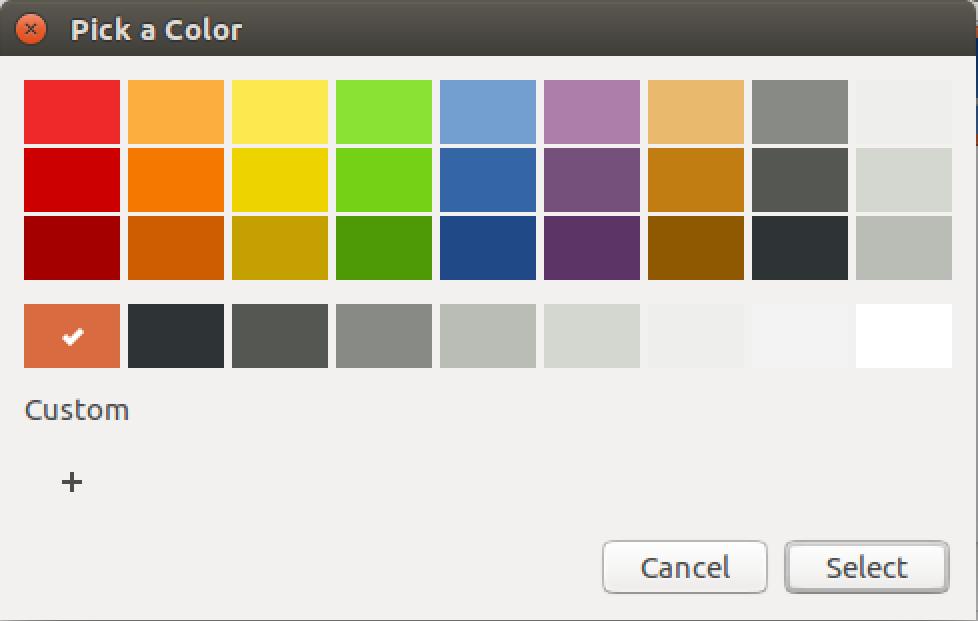 ubuntu linux color picker