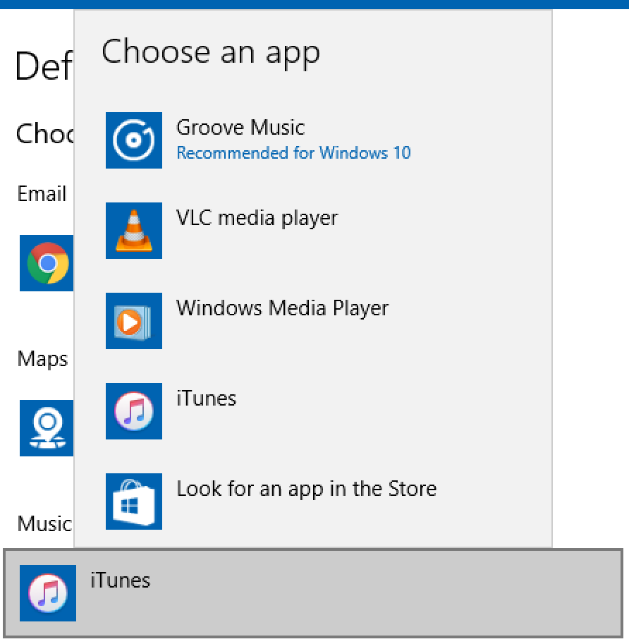 choose an app for music player mp3 wav aac