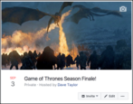 create private secret event facebook events