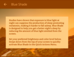 enable night shift blue shade mode amazon kindle fire hd