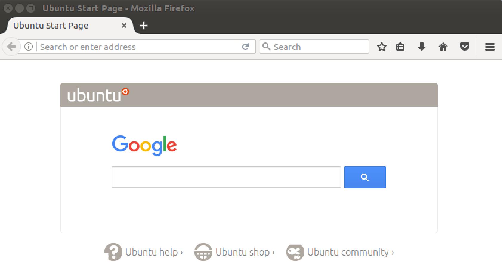 firefox in linux