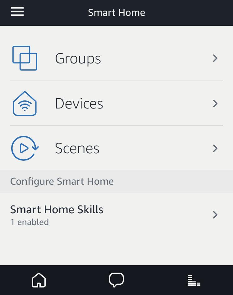 amazon echo alexa smart home settings