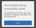 create multi-room music group amazon echo alexa