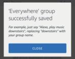 create multi-room music group amazon echo alexa