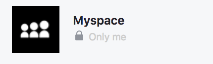 myspace app facebook