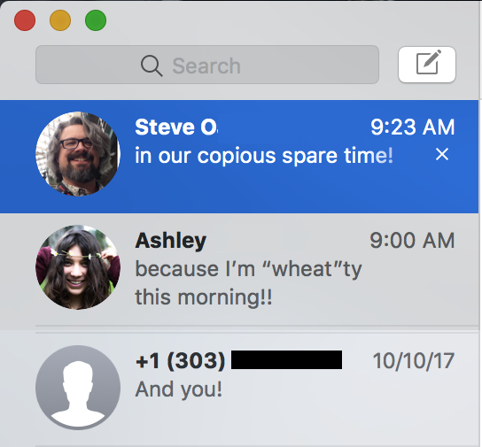 macos apple messages imessage
