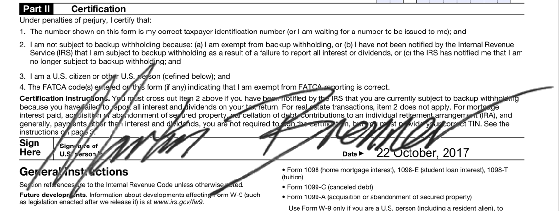 signature stamp on document - wrong size - pdf element