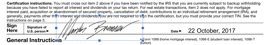 irs pdf signed in pdf element mac