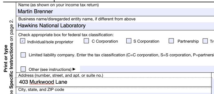 pdf element - filling in form