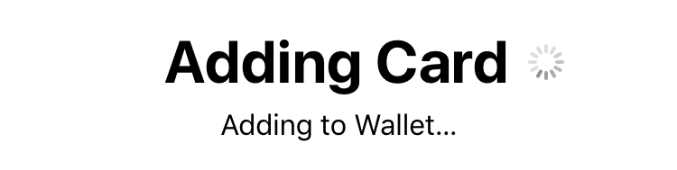 adding credit card to apple pay wallet