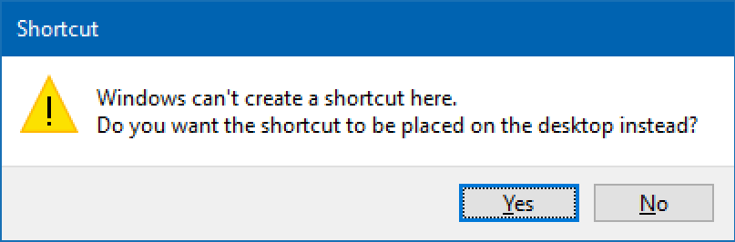How do I add Desktop Shortcuts in Windows 10? - Ask Dave Taylor