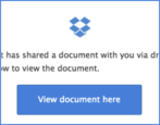 dropbox rackspace phishing attack email
